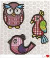 Fábrica de venda quente criança bom design calendário e bordado letras e números