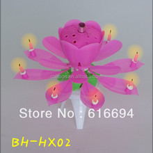 Top Selling flower birthday Candle