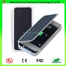 Porable Mini 2800mah Portable Case Solar Mobile Phone Charger for Iphone 5 5S