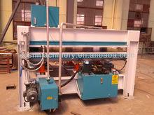Para trabajar la madera caliente máquinas de prensa