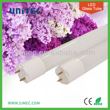 UL CE T8 Glass Tube Flicker Free LED Light