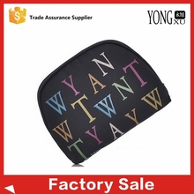 oval shaped waterproof nylon travel cosmetic bags, recycle travelling toiletry cosmetic bags, natural fashion toiletry bags