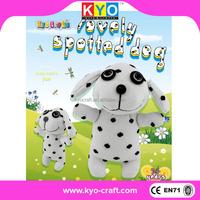 Popular 3D interesting plush dog pug soft toy