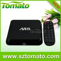 AML Quad Core TM8 android tv stick with remote Android Mini PC TV Box