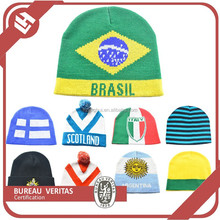 2015 newest football team stylist beanies with reasonable price & good quality