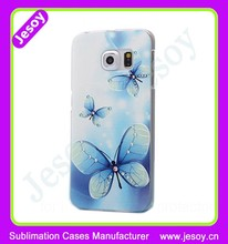JESOY Custom Personalised For Samsung Galaxy S6 Case Cover Photo Print Create you Own Phone