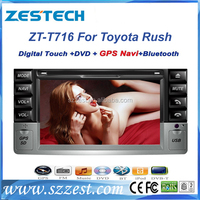 ZESTECH 2 din 7 inch touch screen car multimedia player for Daihatsu Terios/Toyota Rush car stereo car GPS multimedia system