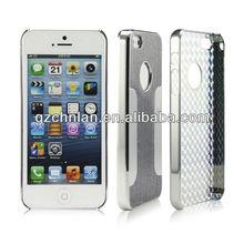 Luxury Brushed Aluminum Chrome Hard Case For iphone 5