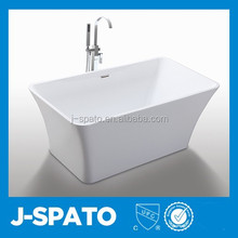 2015 Customized Royal Polished Unwind Square Cheap Freestanding Bathtub Acrylic Walk In Bath Tube JS-6820