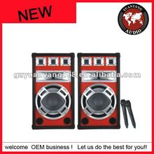 15 inches subwoofer Sound active professional speaker system