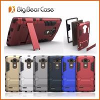 Iron Bear latest design kickstand slim armor case for LG G4