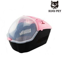 Pet supply plastic carrier for pets both cat and dog