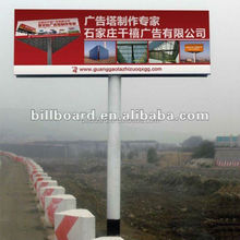 Nice quality low price double side outdoor well designed billboard