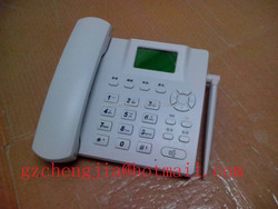 China made wireless land phone home use/ office smart GSM Phone