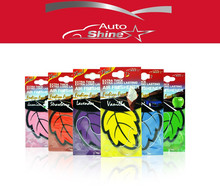 Auto Shine 6 perfumed/fragrance Mixed Hanging Paper Car Air Freshener for Car, Home & Boat