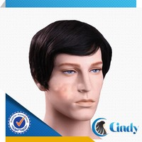 factory direct supply 100 real human virgin natural looking wigs for bald men