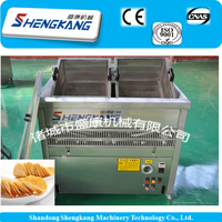 New products potato chips small scale electric heating frying machine /production line manufacturing company