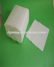 42x42cm décoratifs. 1/4 serviette en papier pliage de papier tissu