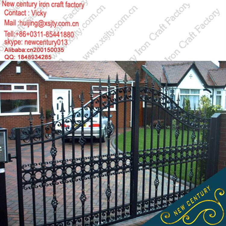 House Gate Designs Iron Main Gate Designs Cheap Wrought Iron Garden