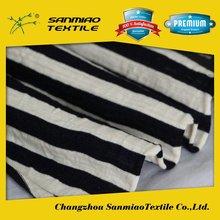 SANMIAO Brand small order alibaba china navy and white stripe fabrics SBWHCP-165
