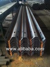 guardrail/crash barrier road guard barrier, material Q235/Q235B/Q345 iron