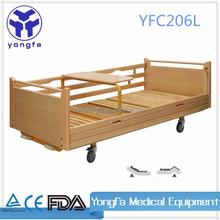 YFC206LMedical Furniture Bed Solid Wood Hospital Bed