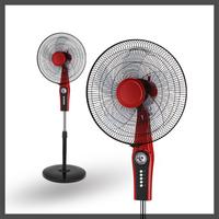 135 degrees oscillating 16 inch 66*14mm motor red good fans