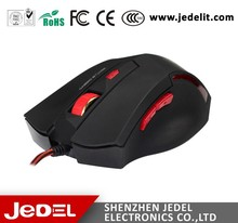 Best Selling Optical Wired USB Gaming Mouse with Guangzhou Factory Price