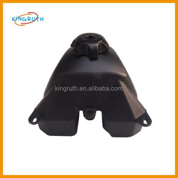 Chinese made black appollo 125 110cc dirt bike gas tank plastic fit motorcycle dirt bike