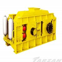 Good quality mining equipment double roller crusher/sand grinding machine for quarry