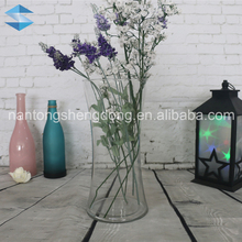 different types clear glass vase home decor