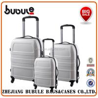 BUBULE 2015 Plastic 4 wheels eminent trolley luggage travel bag on wheels trolley bags colourful travel trolley luggage bag