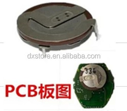 High quality remote key rechargeable battery VL2020 Panasonic rechargeable battery