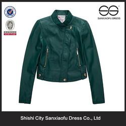 2015 Stylish Winter Lady Pakistan Leather Jacket