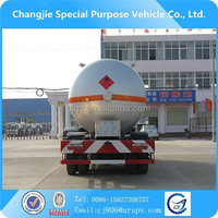 Liquefied gas transportation special vehicles factory price for sale
