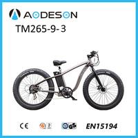 Classical design 350W36V big power Fat tire electric bike with en15194 TM265-9-3