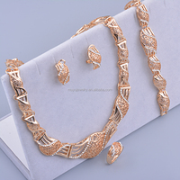 Dubai gold jewelry set / wedding jewellery designs