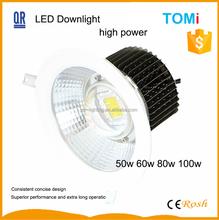 100w led downlight shanghai manufacturer
