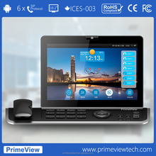 """Video phone, 720p HD 10.1"""" Touch Screen, 6 SIP"""