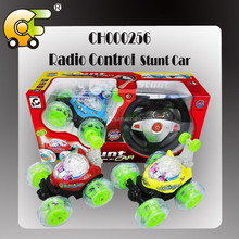 Full function RC stunt car with light & music & charger &2 colors