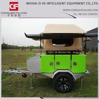 2015 New galvanized utility trailer small travel trailer