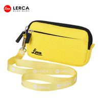 New Design DSLR Camera Bag Cute Yellow Color DSLR Digital camera bag with neck strap trendy dslr camera bag for girl