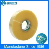 China supplier clear jumbo roll Bulk Custom Self Adhesive Bopp Packing Tape