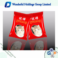 High Quality Dog/Cat Food Travel Bags Plastic Heat Seal Packaging Bags