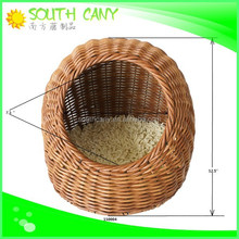 High demands comfortable rattan house for cat