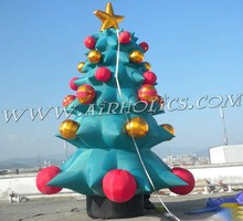popular Christmas inflatable decoration, rotatable christmas tree