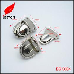 China supply bag parts metal bag clasp for leather handbag