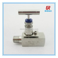 "1/2""npt carbon steel Soft Seat Plug Style Needle Valve with 6000psi"