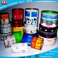 Elegant adhesive label printing and pvc heat shrink label