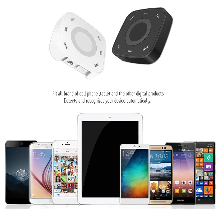각 출력 5.0 볼트/2.4A 최대 색상 블랙/화이트 도매 미니 usb 충전기